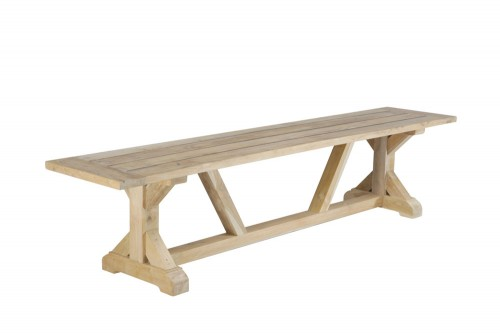 Reclaimed teak wood bench furniture