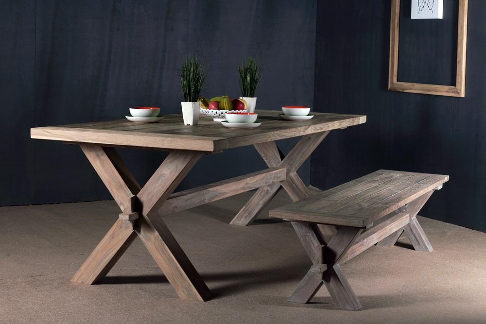 reclaimed teak furniture - teak table PFIT-03