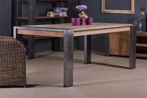 reclaimed teak table PFIT-11