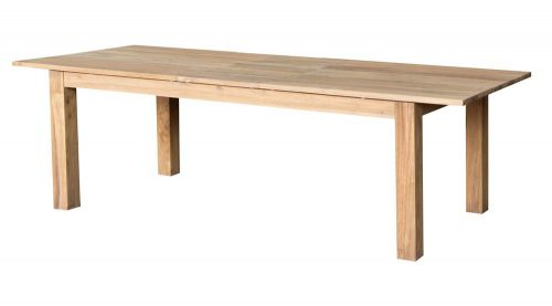 FSC Reclaimed Teak Dining Table Furniture