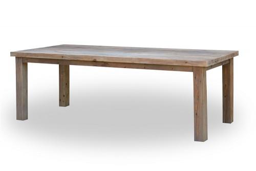 FSC Reclaimed Teak Dining Table Furniture