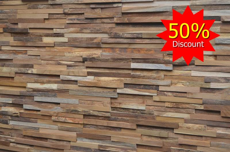 teak wall cladding panels sale